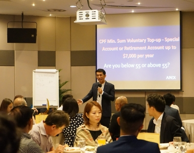 Happy Retirement Fine Dining Seminar – 29 Apr 2021